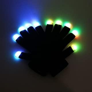 Best rave light show gloves Reviews