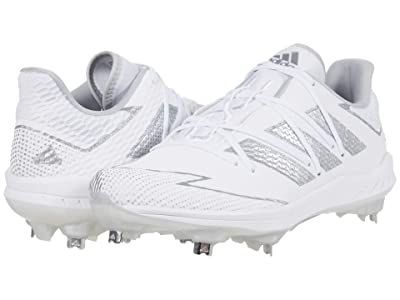 adidas Afterburner 7 (Footwear White/Silver Metallic/Footwear White) Men