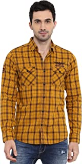 Mufti Mens Slim FIt Casual Shirts