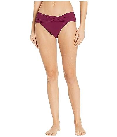 Robin Piccone Ava Twist Bikini Bottom (Palm Green) Women