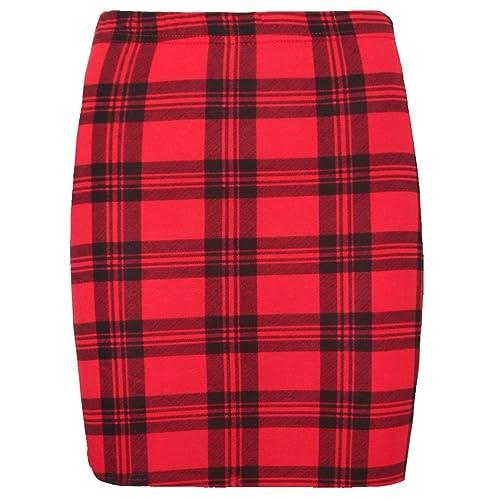 b89fc64ab74ac Crazy Girls Ladies Bodycon Short Stretchy Printed Mini Jersey Women s  Pencil Skirt Size ...