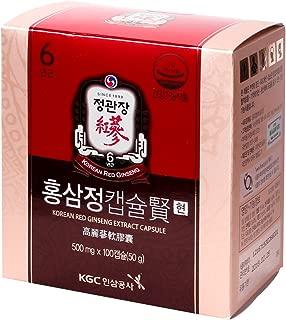 KGC Cheong Kwan Jang Korean Red Ginseng Extract Capsule