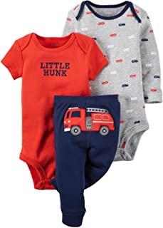 Carter's Baby Boys' 3 Pc Back Art 126g347