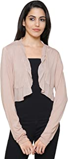 MansiCollections Ruffle Shrug for Women