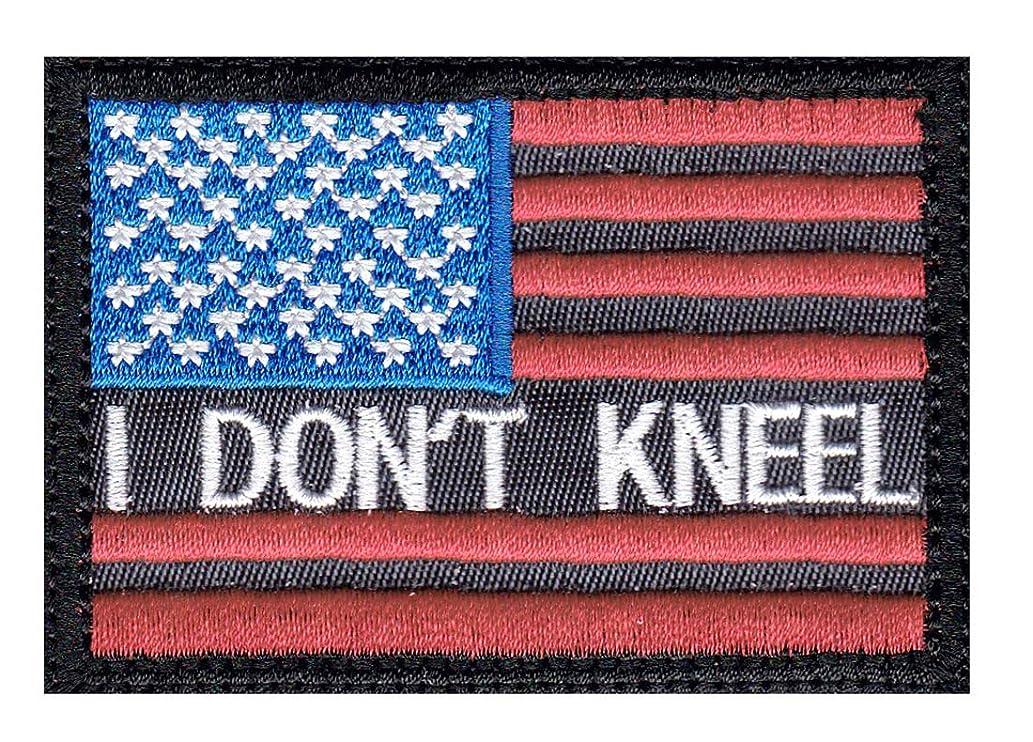 I Don'T Kneel Us Flag Patch