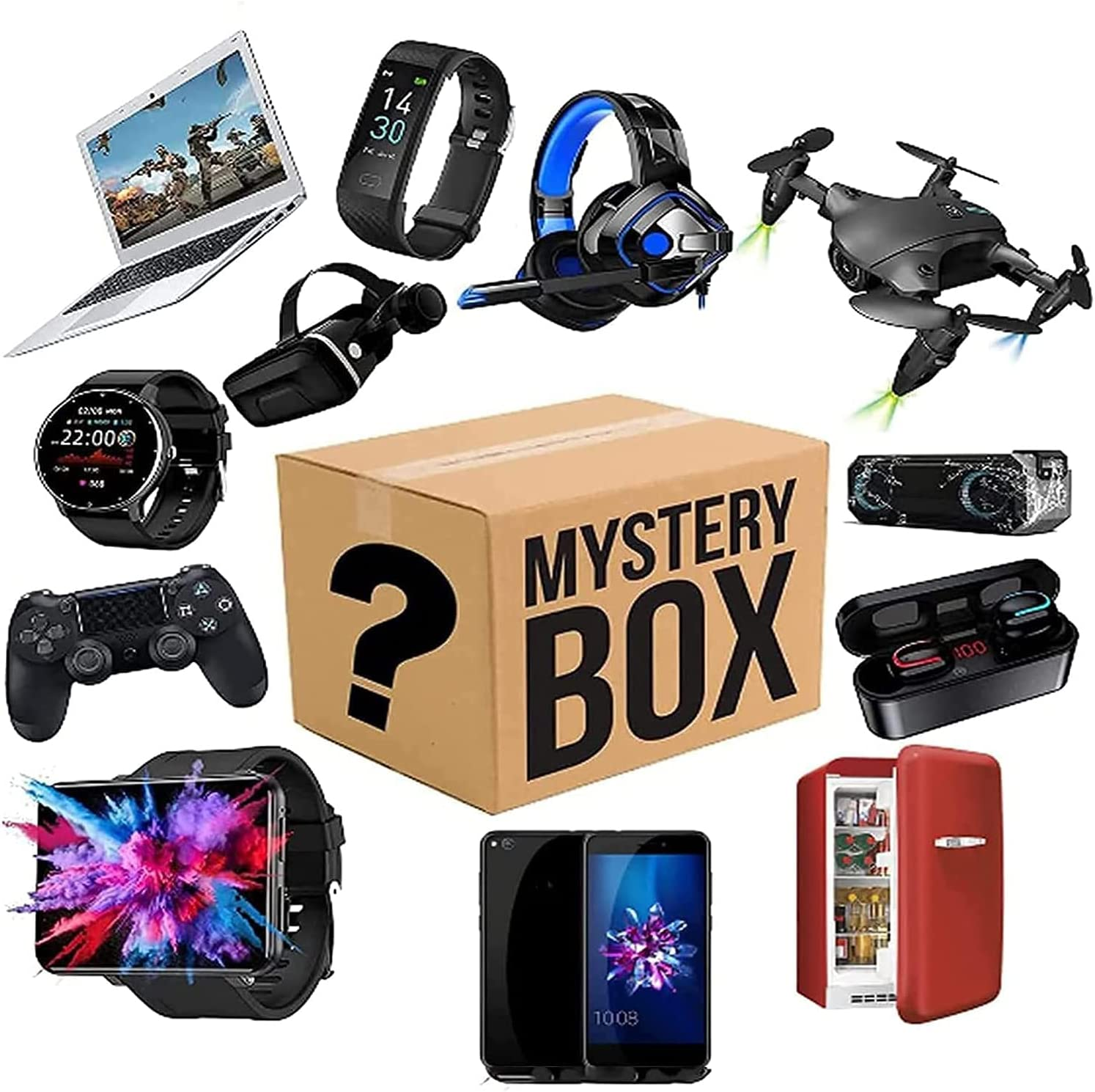 Mystery Lucky Box Mysteries Boxes Electronic is Abou Game a This Challenge Ranking TOP12 the lowest price