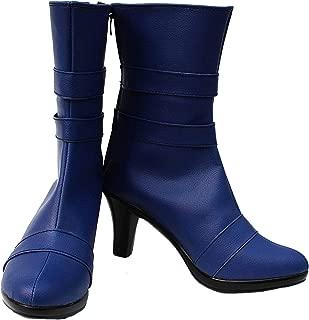 Sailor Moon Sailor Uranus Haruka Tenoh Cosplay Shoes Boots Custom Made