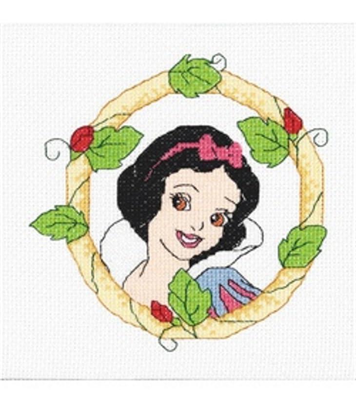 Disney Counted Cross Stitch Kit SNOW WHITE PORTRAIT