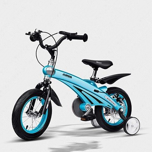 Brilliant firm Luftfürt-Magnesium-Legierung Kinder fürrad 2-4-6 m lichen und Weißichen Baby fürrad 12 14 16 Zoll Kinderwagen