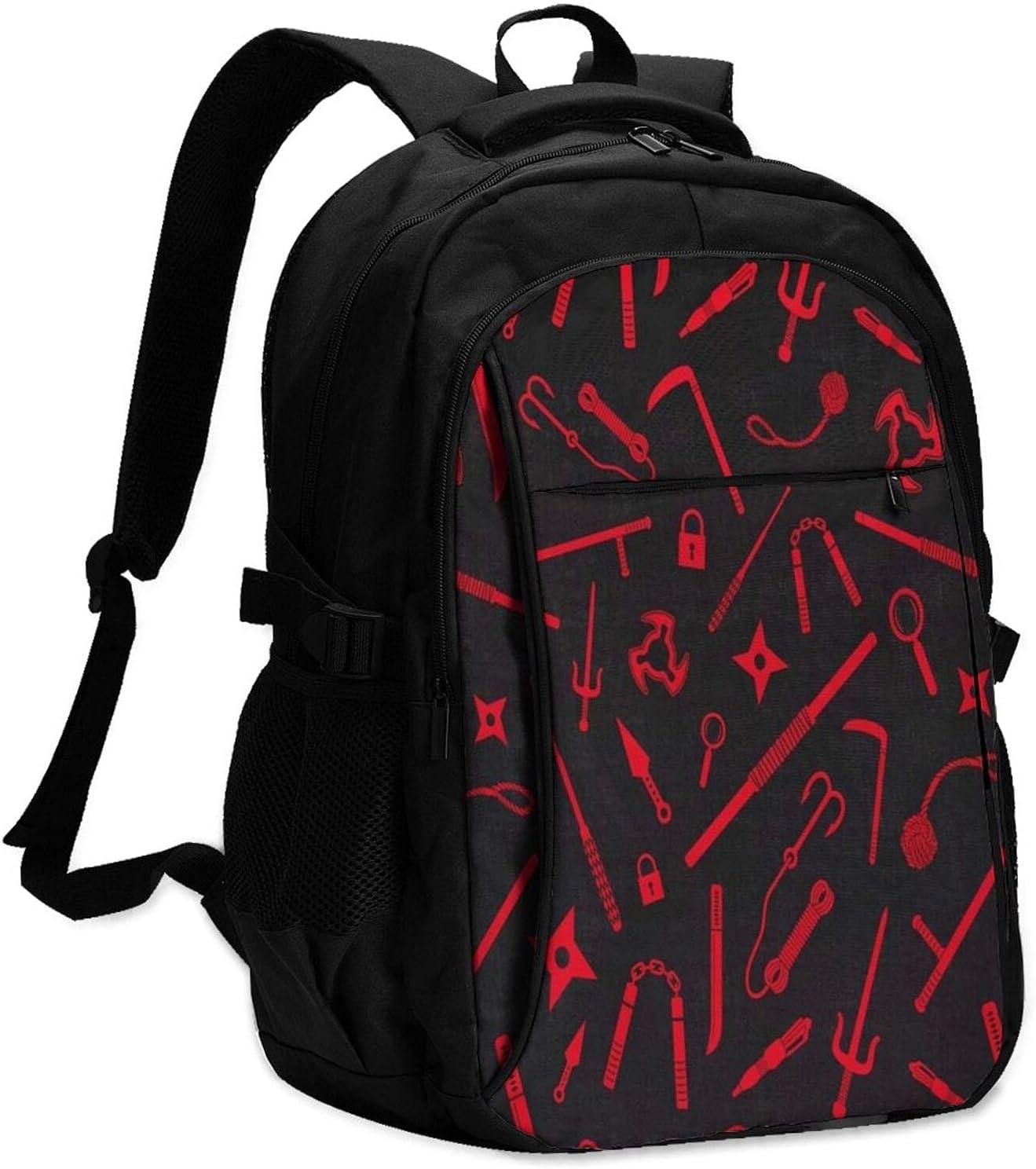 RJEWAONB Spy Ninjas Backpack With Usb Interface Backpack