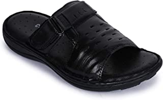Coolers (by Liberty) Men's GSL-23 Black Leather Sandals