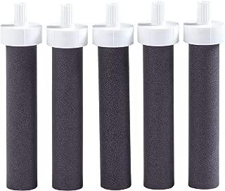 Brita 水瓶过滤器替换件 - 不含 BPA 黑色 5ct
