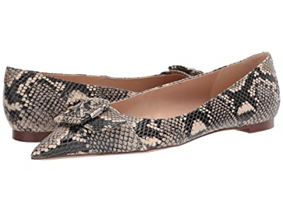 Sam Edelman Sonja (Ecru Multi Exotic Snake Print Leather) Women