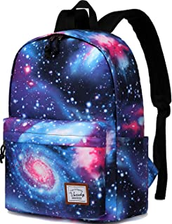 Galaxy Backpack,Vaschy Lightweight College School Backpack for Teen Girls