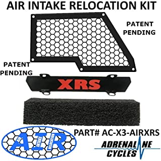 Maverick X3 Air Intake Relocation Noise reduction kit AC-X3-AIRXRS