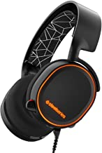 SteelSeries Arctis 5 RGB Illuminated Gaming Headset with DTS Headphone:X 7.1 Surround for PC, PlayStation 4, VR, Android a...