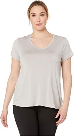 Plus Size Foundation Short Sleeve Top