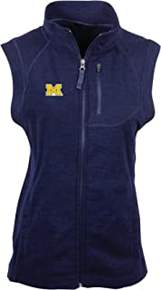 NCAA Michigan Wolverines Women's Guide Vest, Midnight Navy Heather, X-Large