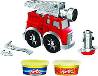 Play-Doh brandweerwielen.