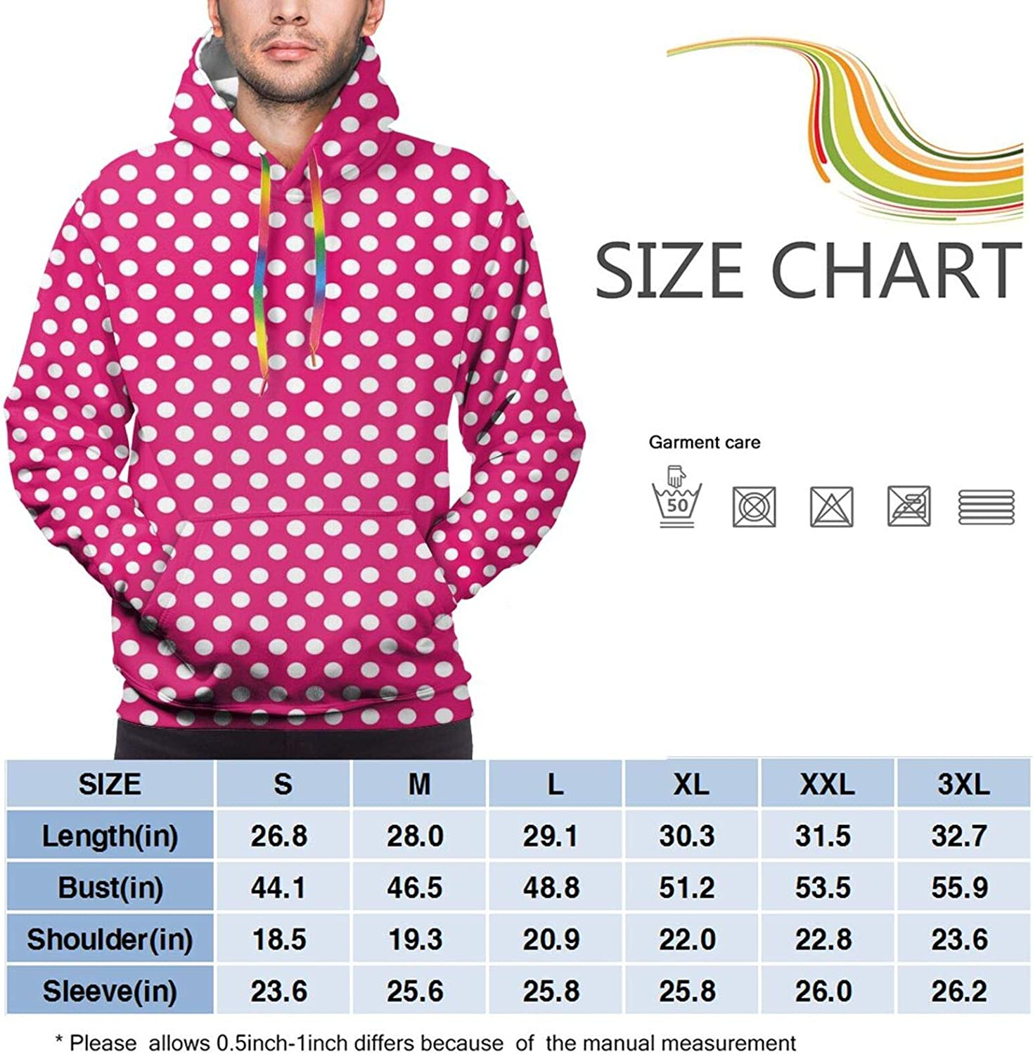 Men's Hoodies Sweatshirts,Bokeh Style Background with Abstract Snowflake Pattern Winter Themed Composition