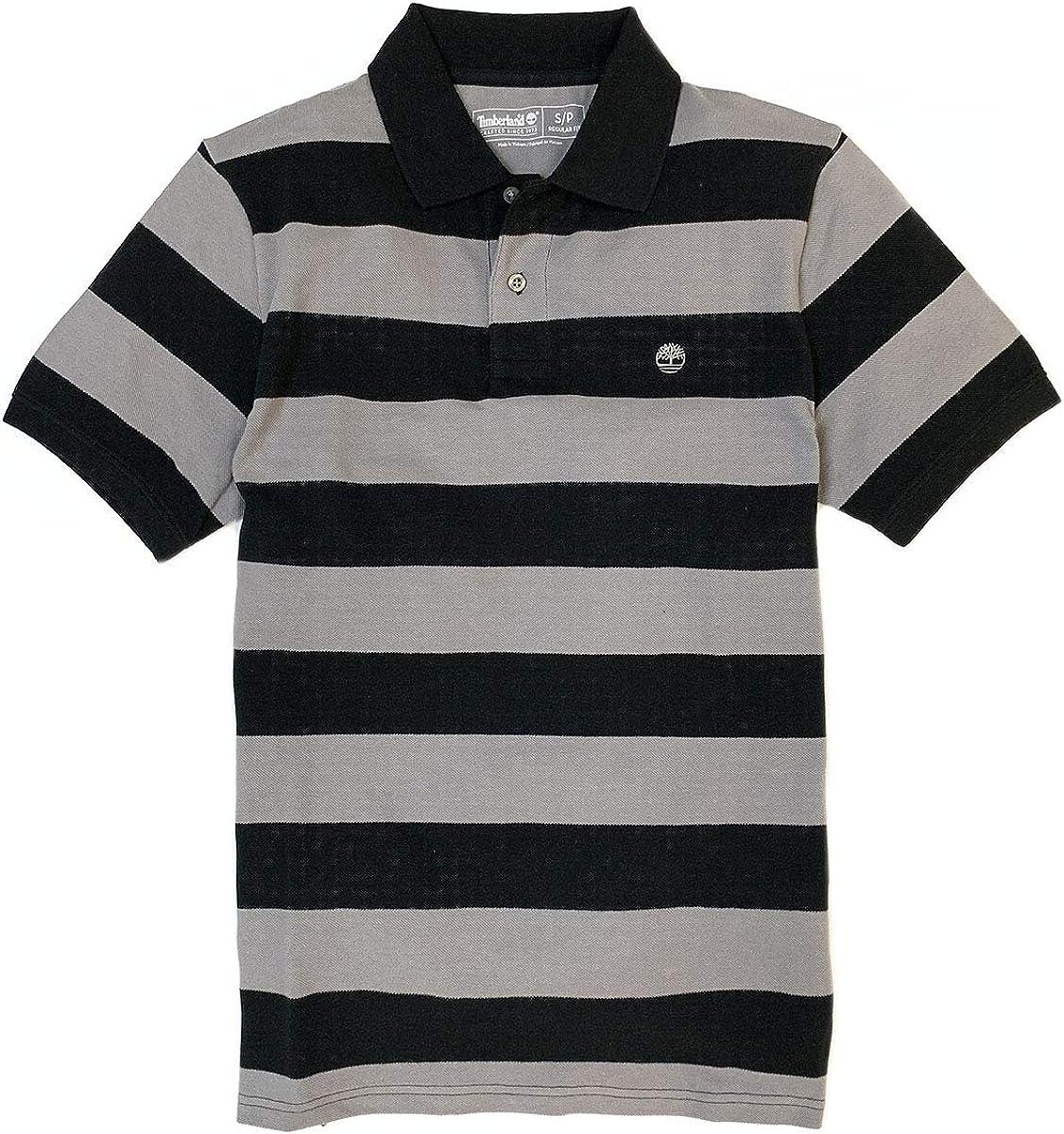 Despido Desgastado Cerebro  Timberland Men's Short Sleeve Pique Summer 100% Cotton Polo Shirt at Amazon  Men's Clothing store