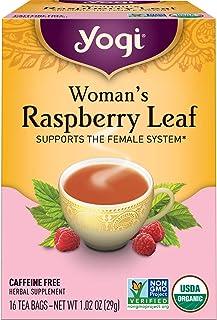 Yogi Tea - Woman's Raspberry Leaf (4 Pack) - Supports the Female System - 64 Tea Bags