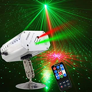 Party Lights DJ Disco Stage Lights Sbolight Led Projector Karaoke Strobe Perform for Stage Lighting with Remote Control for Dancing Christmas Gift Thanksgiving KTV Bar Birthday Outdoor