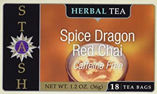 Stash Herbal Tea Caffeine Free Spice Dragon Red Chai - 18 Tea Bags