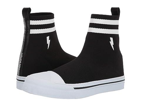 Neil Barrett Bolt Sock Skater Sneaker