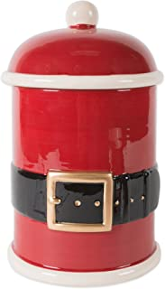 DII CAMZ10690 Christmas Ceramic Pet Treat Storage Lid, 6