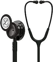 3M Littmann Classic III Monitoring Stethoscope, Smoke-Finish, Black Tube, 27 inch, 5811
