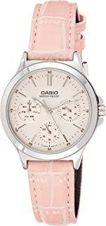 Casio Leather Analog LTP-V300L-4A Watch For Women