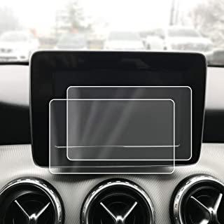 Red Hound Auto 2 Compatible with Mercedes-Benz 2015-2017 GLA 250 COMAND 4Matic Screen Saver 2pc Invisible High Clarity Touch Display Protector Minimizes Fingerprints 7 Inch