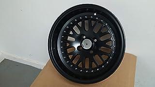"IPW W310 15x8 4x100 0mm Matte Black Wheel Rim 15"" Inch"