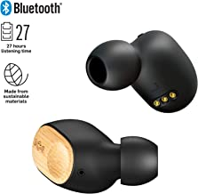 Liberate Air True Wireless Earbuds | 32 Hour Charge Capacity, Sweat Resistant, 9 Hour Playtime | House of Marley