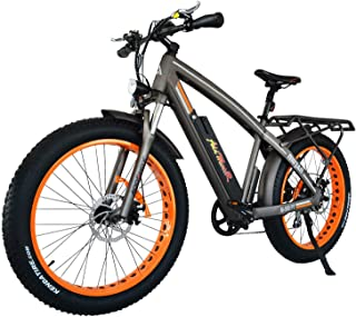 Addmotor MOTAN Electric Bicycles Mountain Fat Tire 26 Inch Power Electric Bikes Removable 48V 11.6AH Lithium Battery M-560 P7 Ebikes for Adults+Fenders+Rear Rack