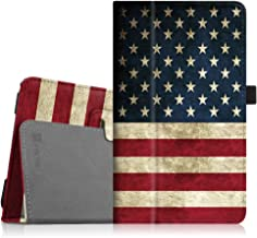 Fintie Folio Case for Samsung Galaxy Tab E 8.0 - Premium PU Leather Slim Fit Smart Stand Cover for Galaxy Tab E 32GB SM-T378 / Tab E 8.0-Inch SM-T375 / SM-T377 Tablet, US Flag