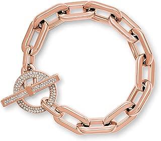 Cityscape Chains Rose Gold-Tone Bracelet