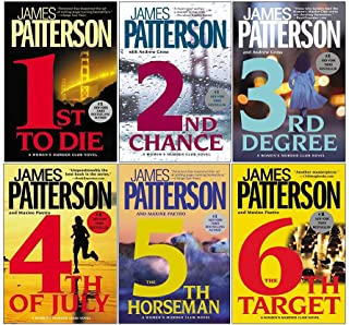 Womens Murder Club 6 Books Collection Set by James Patterson (Books 1 - 6)