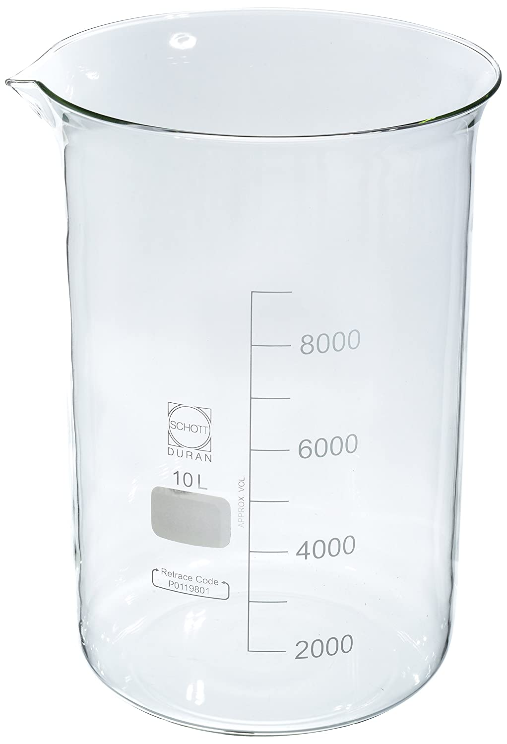 Wilmad-LabGlass LG-3000-104 Ungraduated 1 year warranty Low Form Griffin Beaker Max 51% OFF