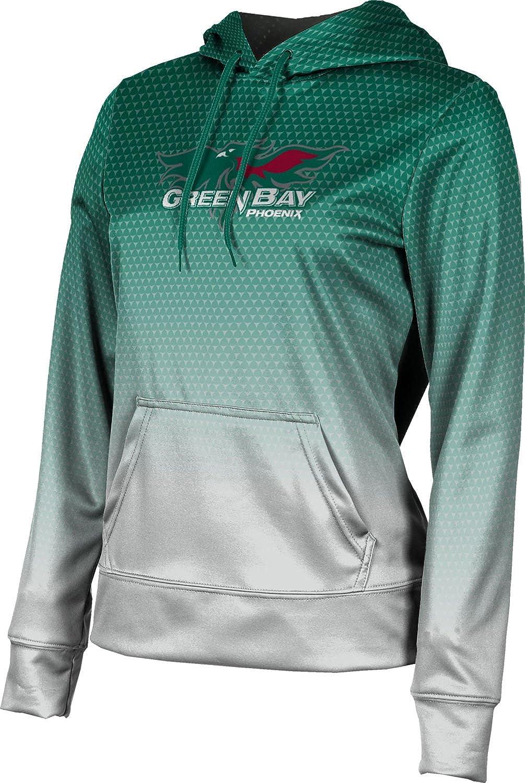 University of Wisconsin Green Bay Girls' Pullover Hoodie, School Spirit Sweatshirt (Zoom)