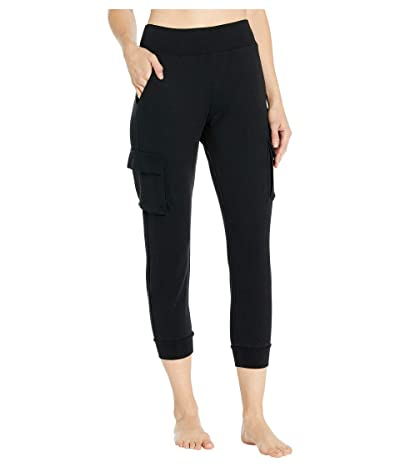 ALO 7/8 High-Waist Cargo Sweatpants (Black) Women