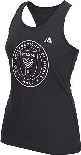 adidas Inter Miami CF MLS Soccer Futbol Women's Primary Logo Black Tank Top