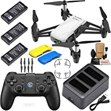 Tello Drone Quadcopter Boost Combo Plus with 3 Batteries, Charging Hub, GameSir T1D Remote Controller and More