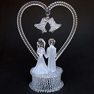 Best blown glass wedding cake toppers Reviews