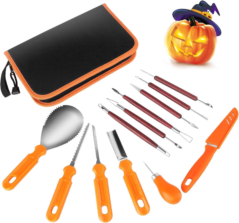 HuaQi Bombing free shipping Halloween Pumpkin Carving shipfree Heavy 13Pack Duty Kit