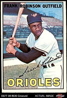 1967 Topps # 100 Frank Robinson Baltimore Orioles (Baseball Card) Dean`s Cards 2 - GOOD Orioles