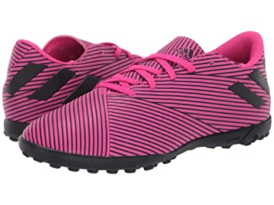 adidas Kids Nemeziz 19.4 TF Soccer (Little Kid/Big Kid) (Shock Pink/Black) Kid