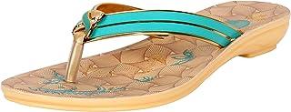Shoefly Multicolor-1115 Designer Slipper for Women