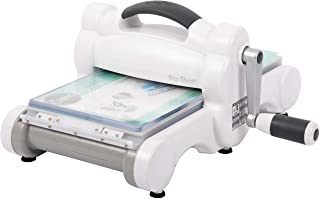 Sizzix 660425 Big Shot Machine, 6 in (15.24 cm) Opening, White/Gray